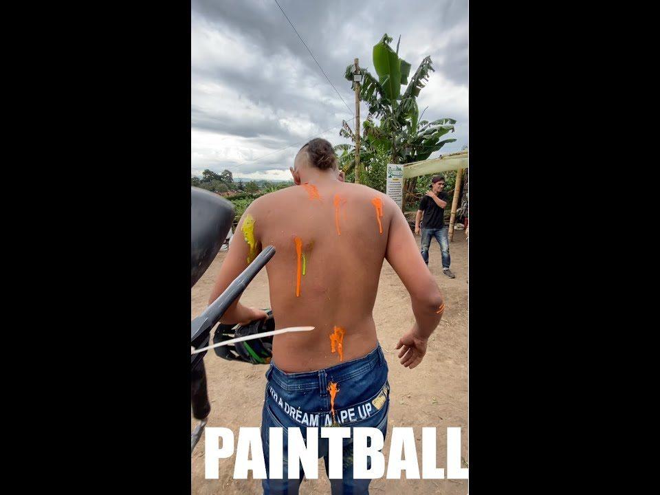 Paintball extremo BORMA Y RETOS #02 @Barraganista